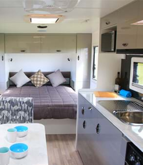 Look through our caravans in stock